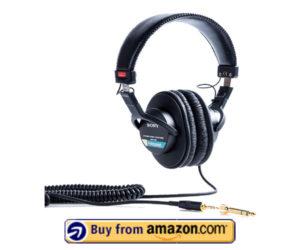Sony MDR7506 - Best Bass Headphones Under $100