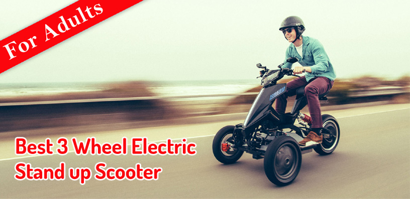 3 Wheel Electric Stand up Scooter 2021
