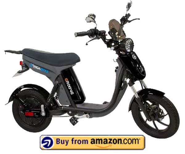 GigaByke Groove Motorized E-Bike - Fastest Electric Moped 2020