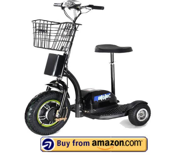 Rugged Electric Trike Scooter - Cheap 3 Wheel Electric Scooter 2020