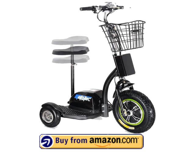 SAY YEAH Electric Bike Scooter - Best 3 Wheel Electric Stand up Scooter With Seat 2020