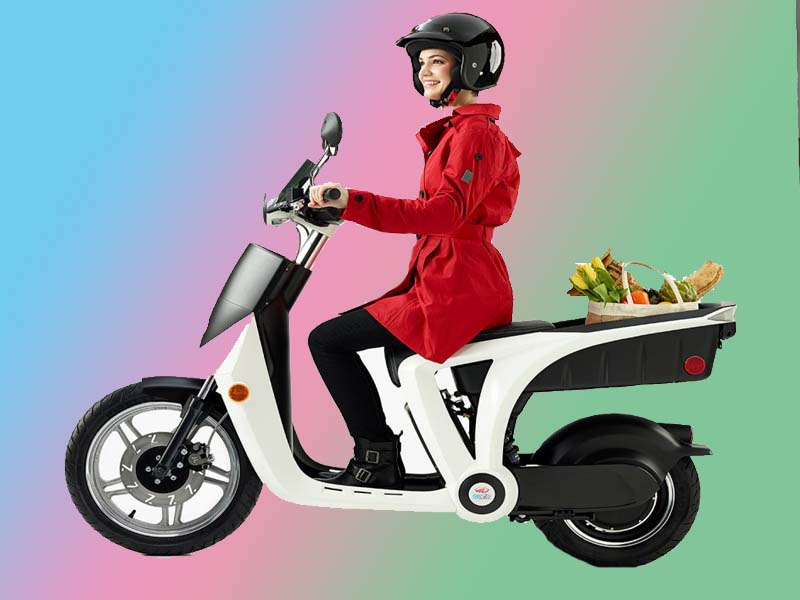 fastest electric scooter girl 2020