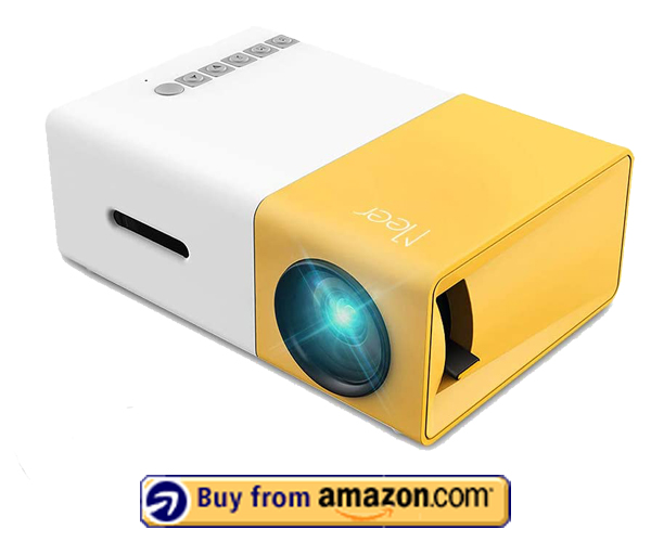 Meer Mini Portable LED Projector - Best Cheap Projector Under $50 2020