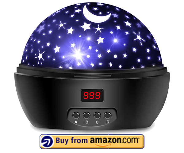 Night Lights For Kids Star Projector - Best Home Planetarium For Kids