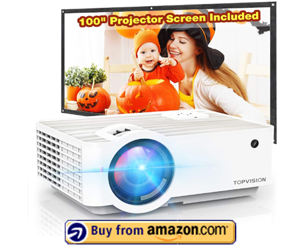 TOPVISION 5500L Portable Mini Projector