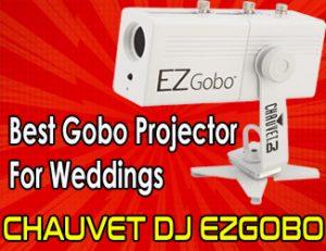 CHAUVET DJ EZGOBO - best gobo projector for weddings