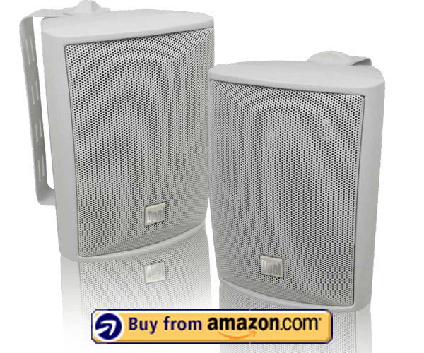 Dual Electronics LU43PW 3-Way High Performance Outdoor Speakers